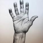 Hands. Portraits.