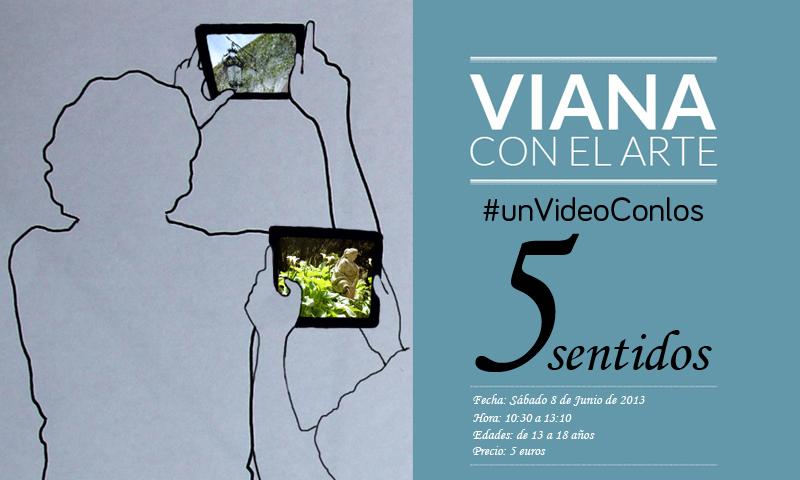 Tarjeta #unVideoConlos5sentidos